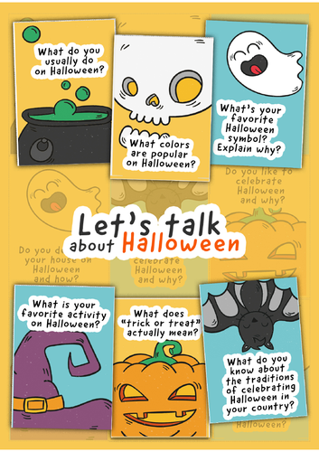 Let's talk about Halloween