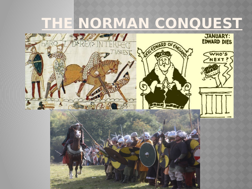 The Norman Conquest & Battle of Hastings (Full 6 Lesson Unit)