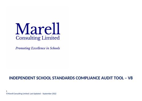 Independent School Standards Compliance Audit Tool