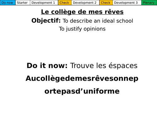 Le collège de mes rêves (Revision Dynamo 1.2)
