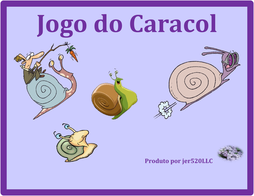 Halloween in Portuguese Caracol Snail Game