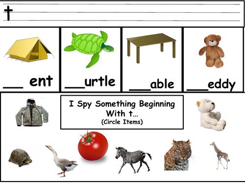 Alphabet Worksheets A - Z