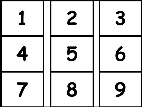 Bingo to 10