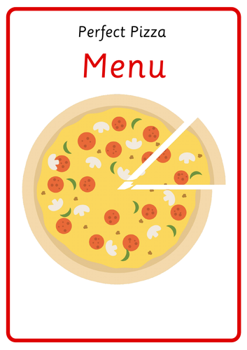Pizza Role Play Resources