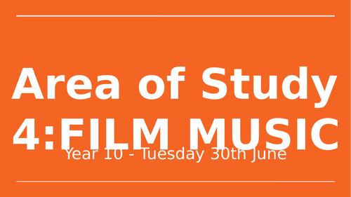 GCSE Music - Film Music