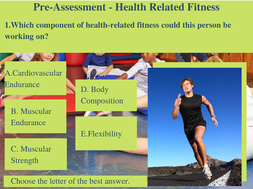 Health Related Fitness Teaching Resources