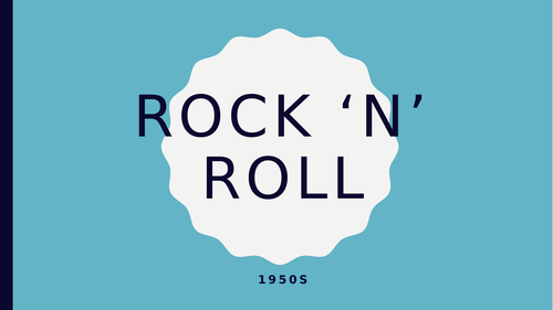 Rock 'n' Roll music appreciation lessons