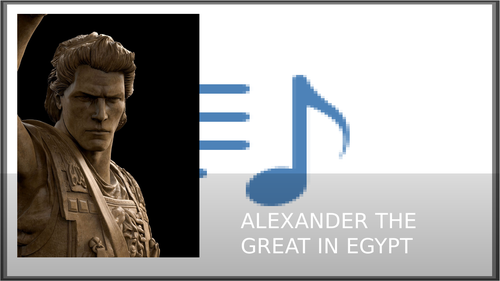 Alexander the Great in Egypt