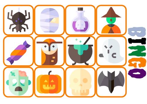 Halloween UNO card game