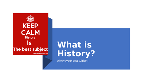1. What is History?
