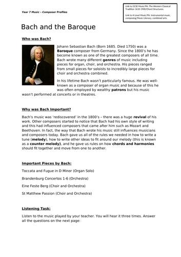 Composer Profiles - Sample