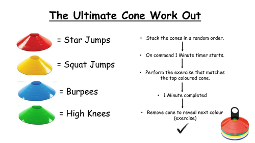 Ultimate Cone Workout