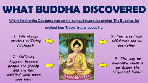 The Buddha - The Eightfold Path!