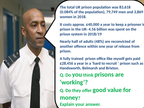 Crime and Punishment 1900-Present day Prison  Reforms