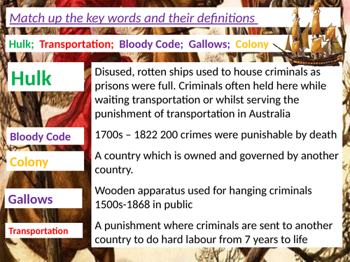 Crime and Punishment The Bloody Code