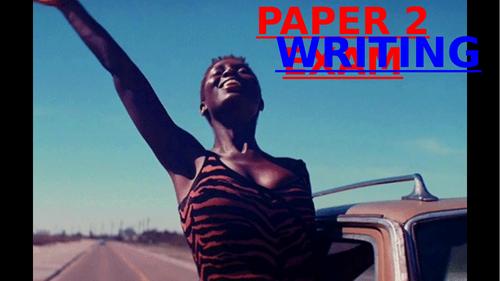 PAPER 2 WRITING November 2020 resit PowerPoint & VIDEOS - GCSE ENGLISH LANGUAGE