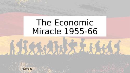 FRG: Economic Miracle 1955-56