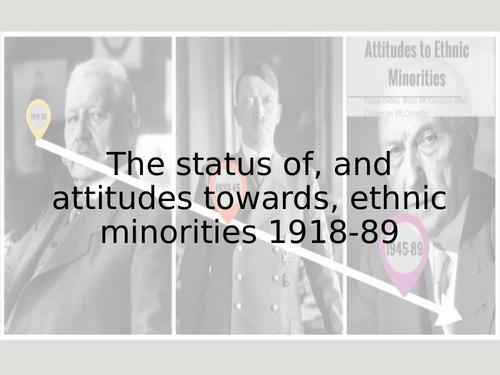 Germany: attitudes towards minorities 1918-89 (Edexcel)