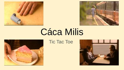Cáca Milis - Tic Tac Toe