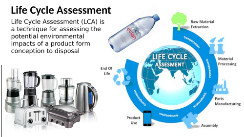 Product lifecycle assessment