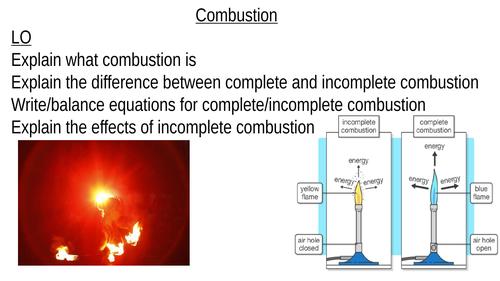 GCSE Combustion