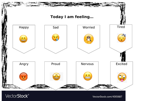 Feelings mat