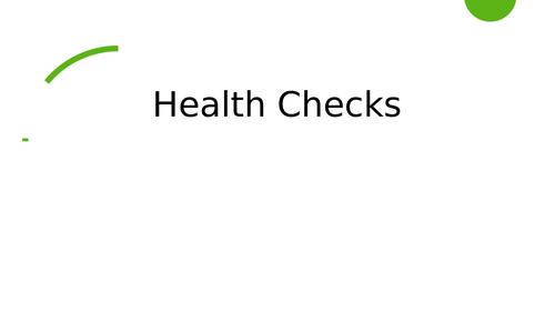 Animal Health Checks