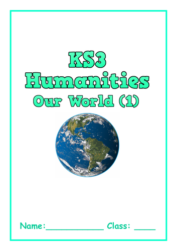 Humanities Home Learning / Independent Learning Booklets