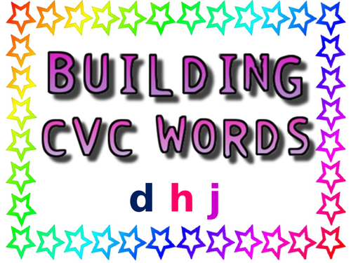 CVC words lesson and activities
