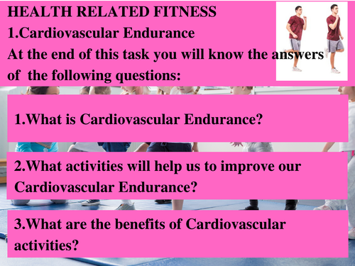 Grade 3 - Health Related Fitness - Cardiovascular Endurance