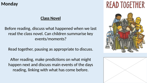 Year 5/6 UKS2 Whole Class Reading Planning - Halloween Theme!
