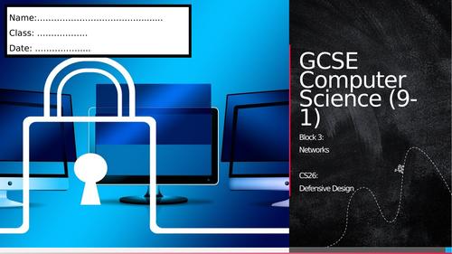 CS26: Defensive Design (Workbook)