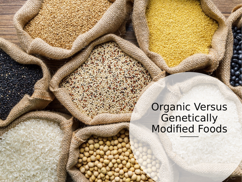 Organic and Genetically Modified GM Food