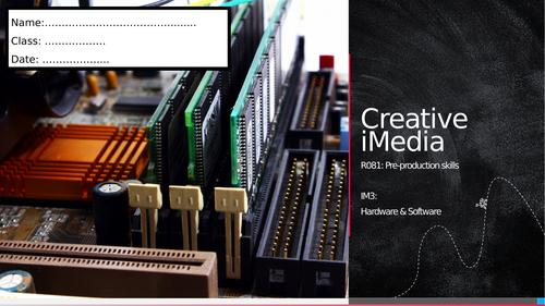 R081 - IM3: Hardware, Software and Peripherals (Workbook)