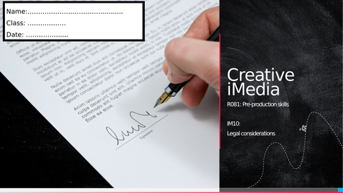 R081 - IM10: Legal considerations (Workbook)