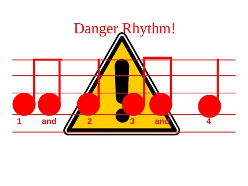 Danger Rhythm Music Activity