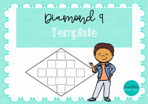 Diamond 9 Template