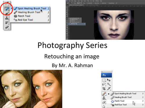 Photoshop: Retouching an image