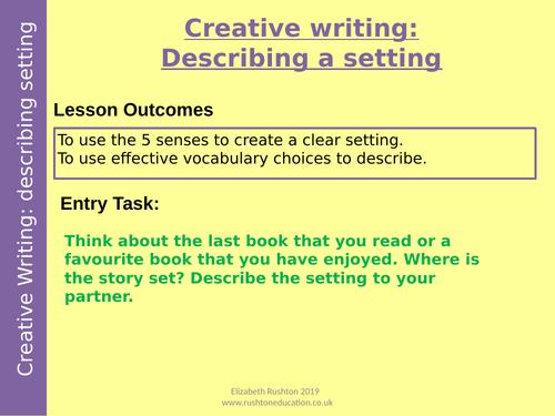 Creative writing/narrative writing