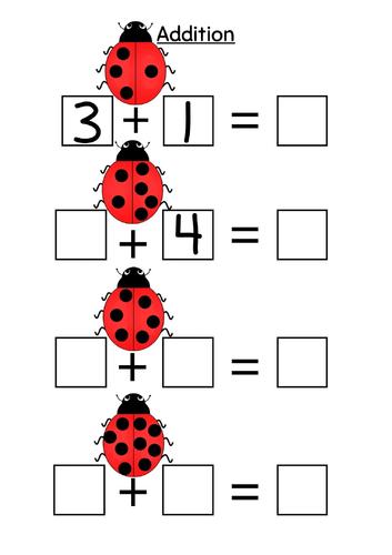 Ladybird addition to 10
