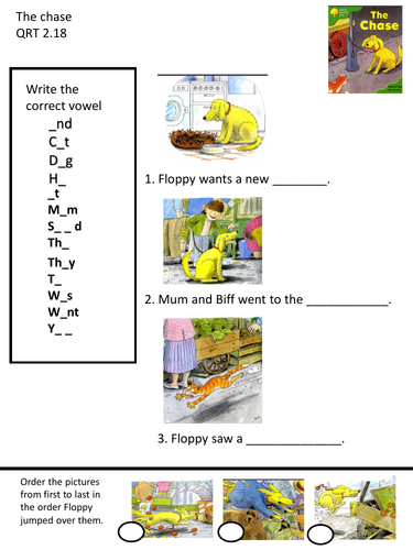 The Chase Oxford reading tree worksheet