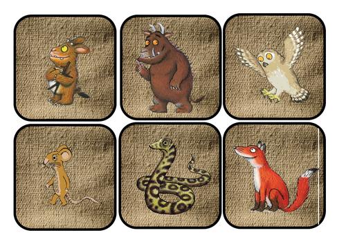 Gruffalo character hunt