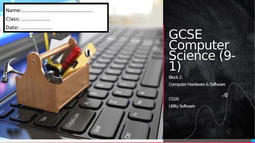 CS16: Utility Software (Workbook)