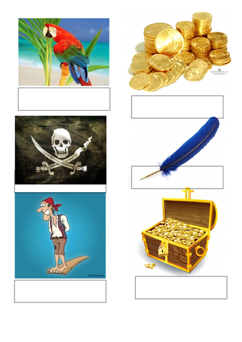 Initial sounds phonics treasure hunt