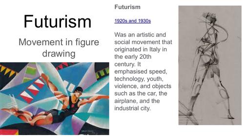 Futurism Figure and Movement