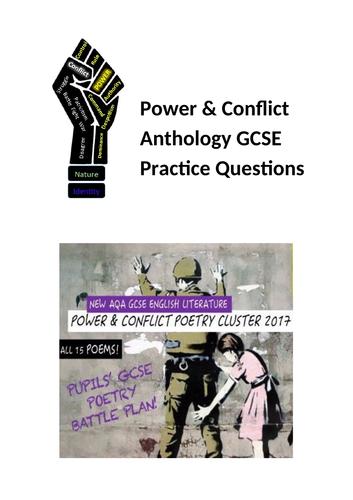 Power & Conflict GCSE Questions