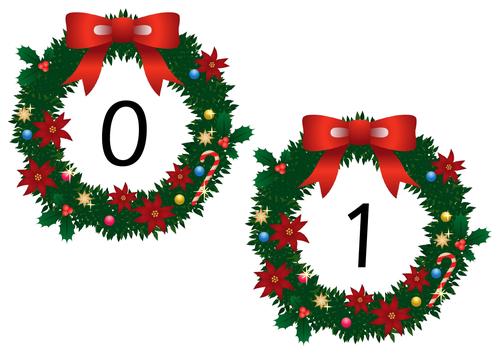 Wreath Numbers 0 - 20