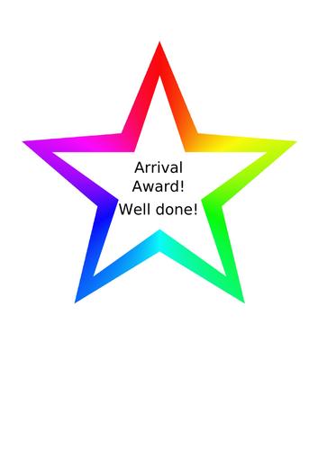 Arrival Award