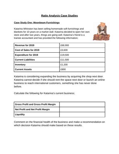 Ratio Analysis Case Studies (Worksheet)