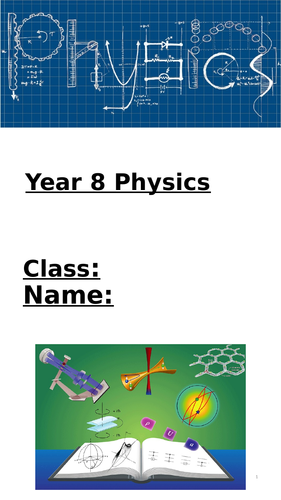 Physics (Waves, space and electromagnets) Home-learning booklet